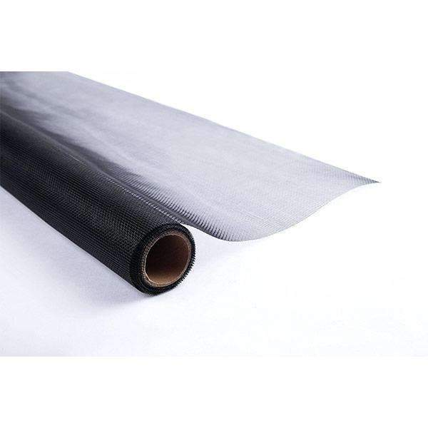 Fiberglass Window Screen Insect Barrier Black
