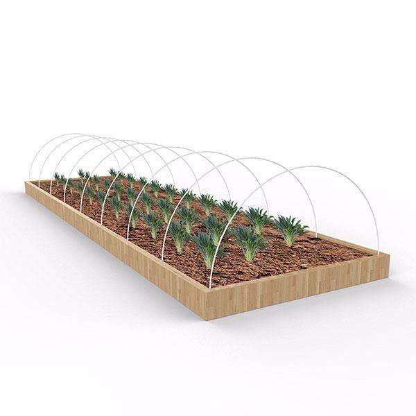 Fiberhoop, 6ft long hoops for Greenhouse, Black