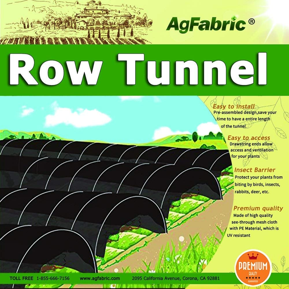 Sunshade Greenhouse Outdoor Row Tunnel