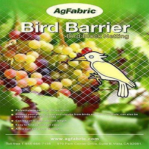Garden Bird Netting, White