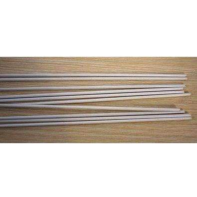 Garden Stake, White, 3mm Dia, 2.6ft hight