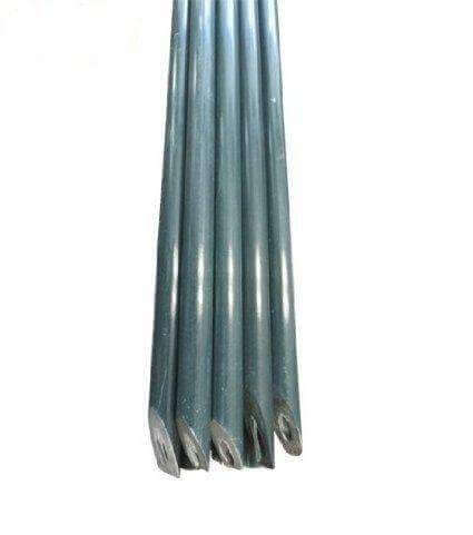 11mm Diameter, 7Ft, Plant Stakes, Green