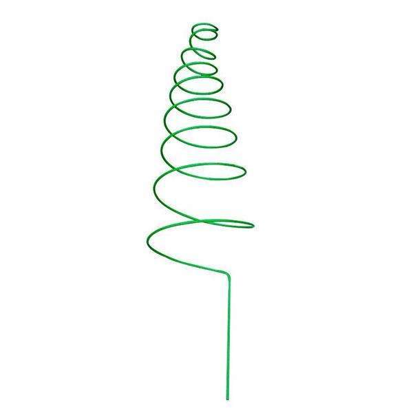Garden Trellis, Plant Support, 1.57ft high, Spiral, Green