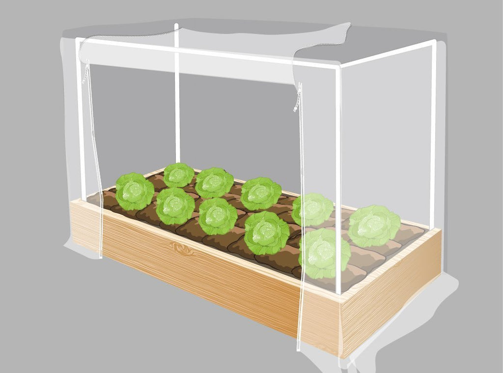Garden Insect Barrier Kit with Frame