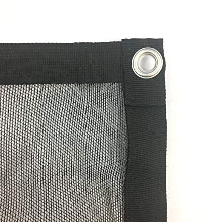 50% Woven Shade Panel, Black