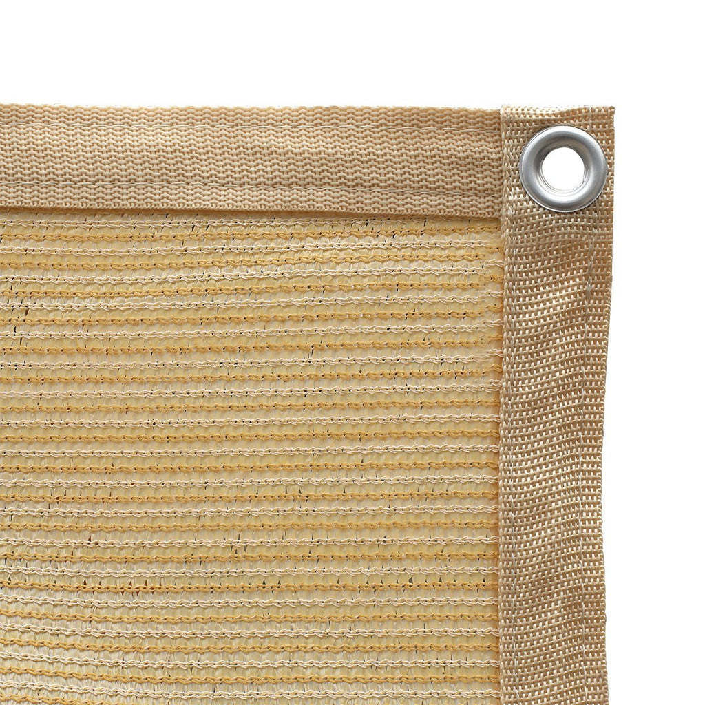 90% Wheat Sun Shade Cloth with Grommets