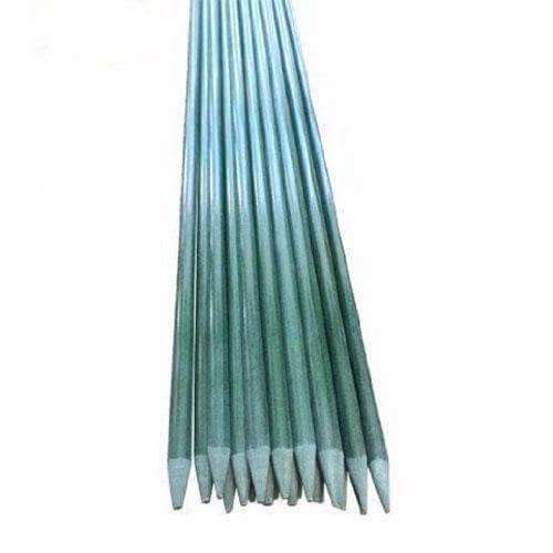 7-Feet, 3/8-Inch Dia, Plant Stakes, Dark Green
