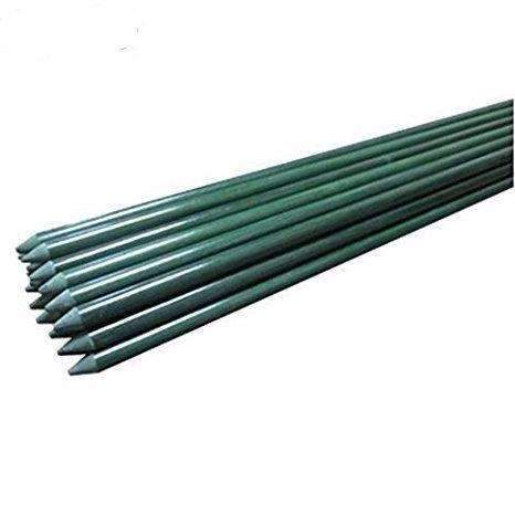 5/16'' X 60'', Garden Stakes with Special Designed Slot, Green, 20 Pack