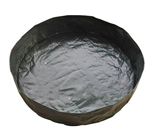 Round Fabric Planting Bag,Dark Green, 200 Gal