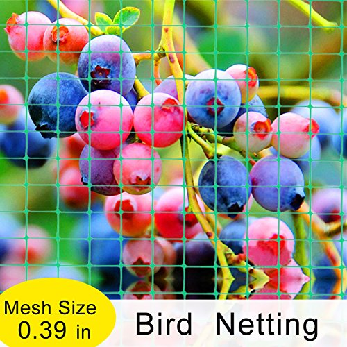 6.5ft Width EZ-Barrier Bird Netting, Green