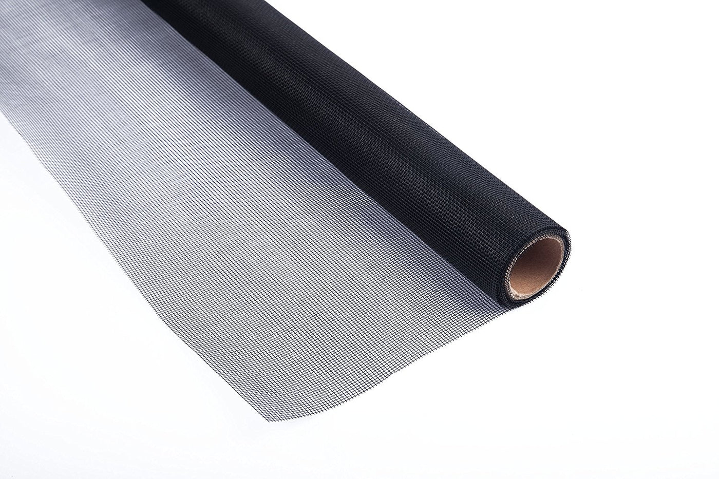 Roll Fiberglass Screen, Black