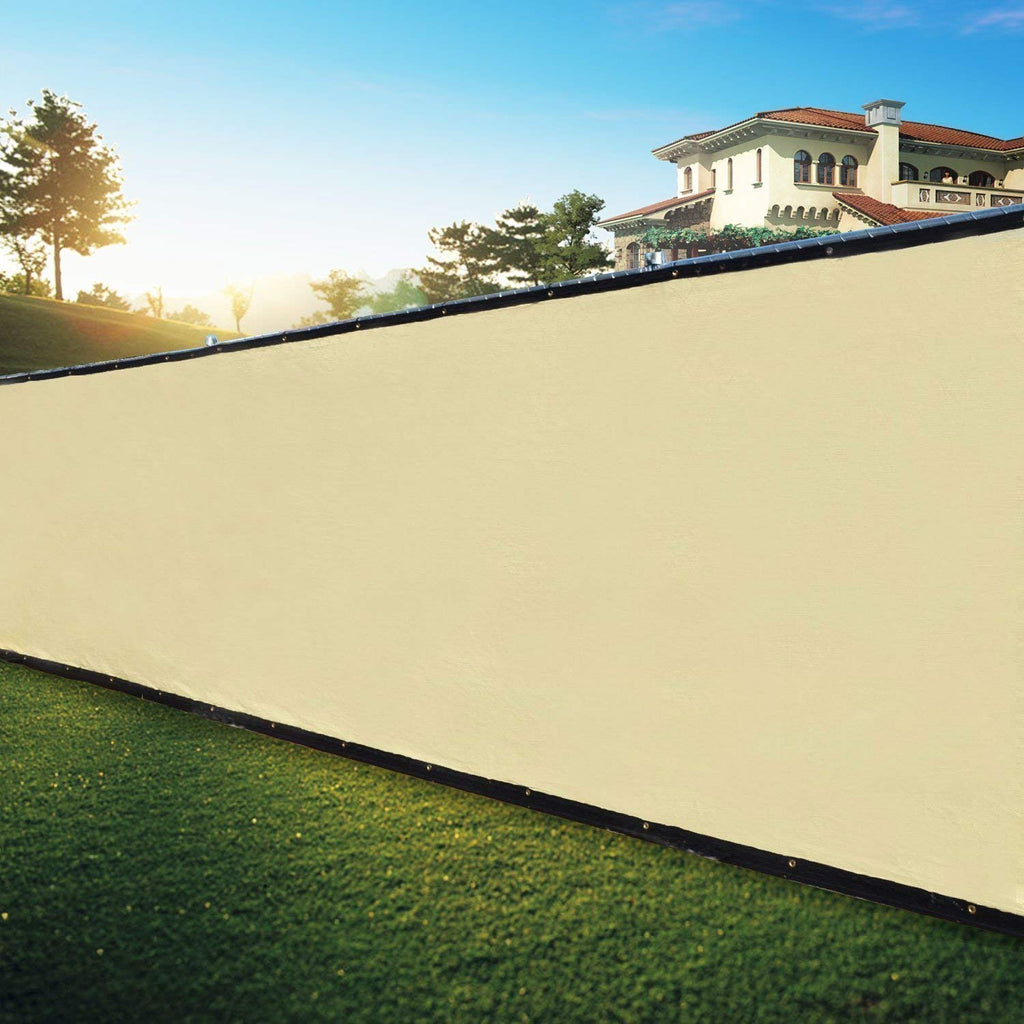 Pro Security Privacy Windscreen Tan 6x25FT Wheat Edge