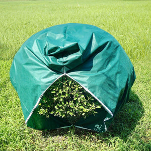 1.5oz Rectangle Plant Cover with Zipper, Dark Green