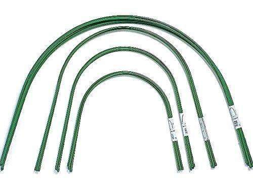 RowTunnel Grow Tunnel, Greenhouse, Tunnel Kit with Steel Curved Hoops and Film