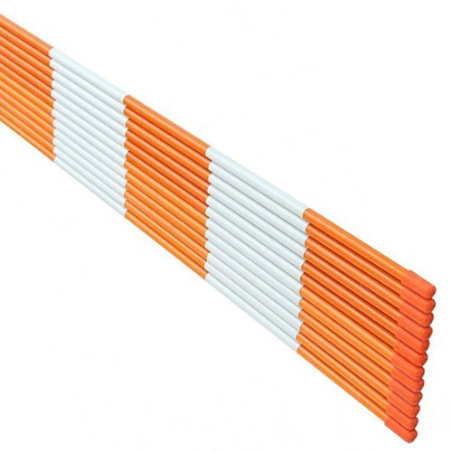 snow marker,50pack,1/4''*48'',orange
