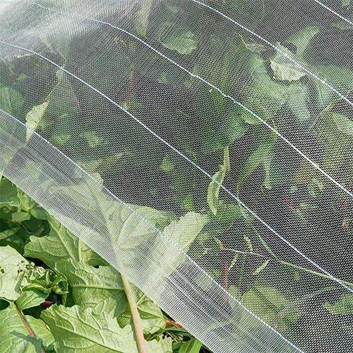 Pest Control Netting with Silver Thread