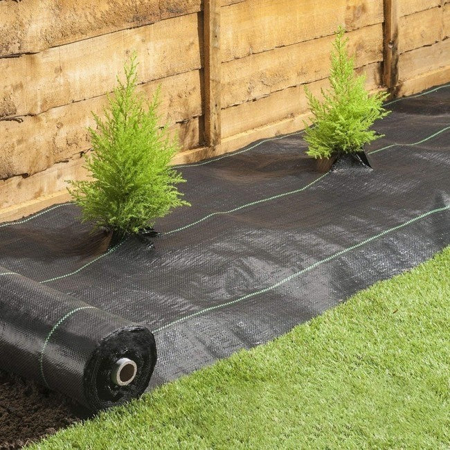 10ft Width Roll 3.0oz Woven Weed Block