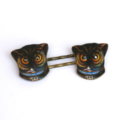 BP5027  Color Owl Bobby Pins