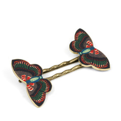 BP5040  Deco Butterfly Bobby Pins