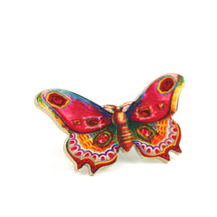TP7050  Pink Butterfly Tiny Pin