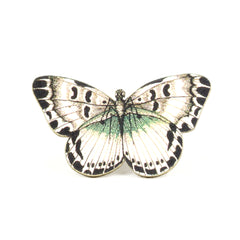 TP7054  White Butterfly Tiny Pin