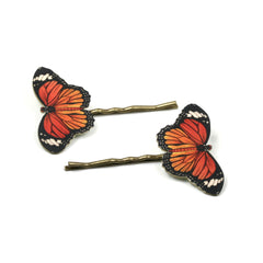 BP5046  Monarch Butterfly Bobby Pins