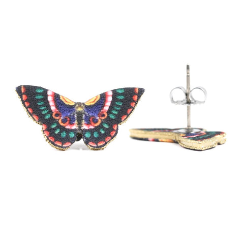 ER3257 Romanian Butterfly Post Earrings