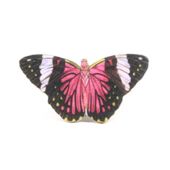 TP7069 Fuchsia Butterfly Tiny Pin