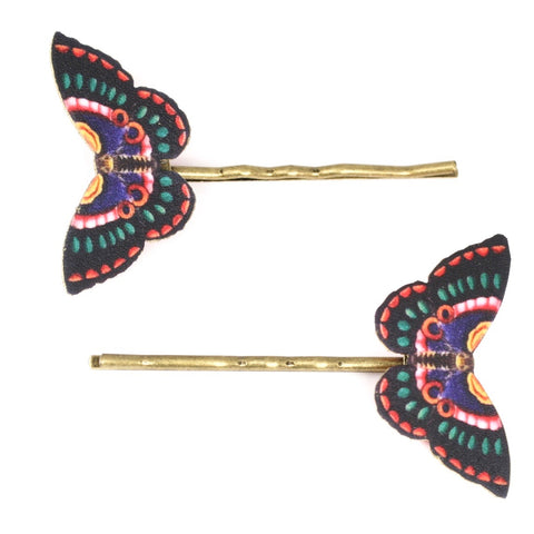 BP5057 Romanian Butterfly Bobby Pins