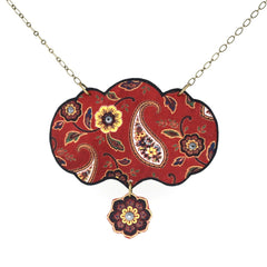 NK1423 Russian Paisley Collar Necklace