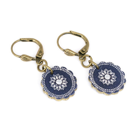 ER3263 China Plate Earring