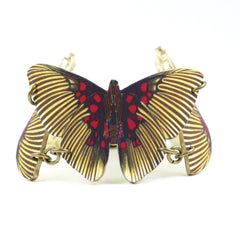 BC4216 Striped Butterfly Bracelet