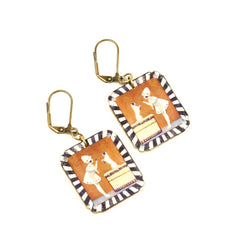 ER3247 Good Dog Earrings