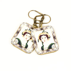 ER3248 Garden Girl Earrings