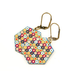 ER3253 Kaleidoscope Earrings