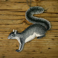 NK1106 Woodland Squirrel Necklace