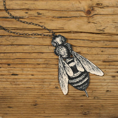 NK1013 Bee Necklace