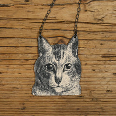 NK1041 Elliot Cat Necklace