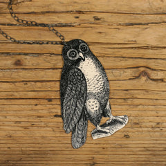 NK1050 Hoot Owl Necklace