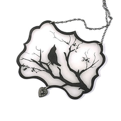 NK1019 Bird Silhouette Necklace