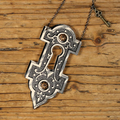 NK1117 Lock and Key Necklace