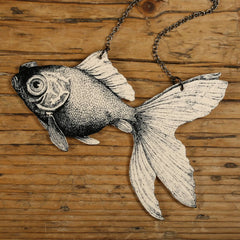 NK1066 Goldfish Necklace