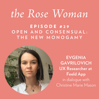 Episode #29: Evgenia Gavrilovich, Open and Consensual: The New Monogamy
