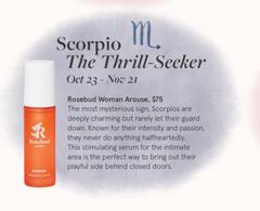Rosebud Woman Arouse Stimulating Serum featured in the detox market fall/winter edit