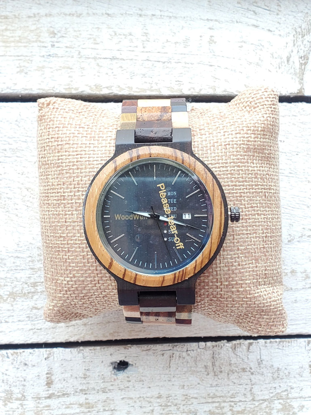 Ember WoodWelt Men's Watch