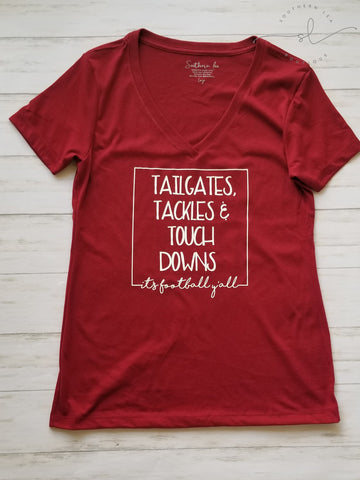 Tailgates, Tackles, & Touchdowns...