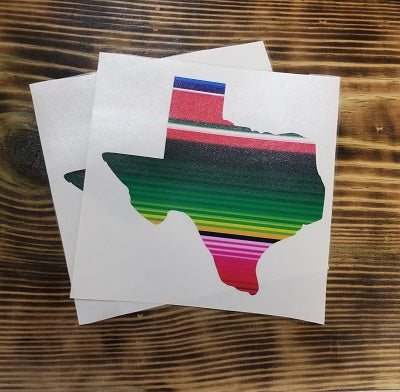 Serape Texas - Green