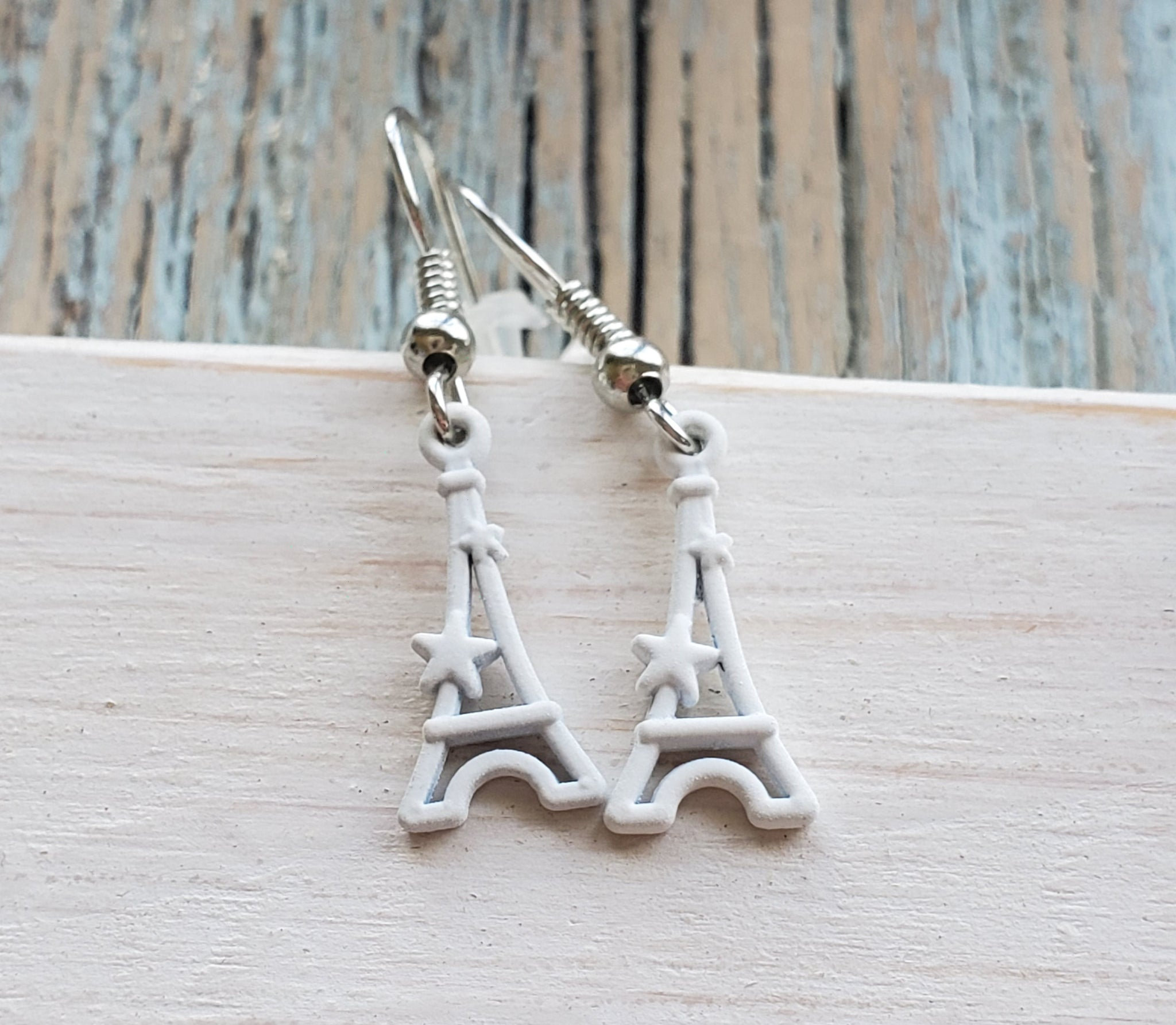 Eiffel Tower - White