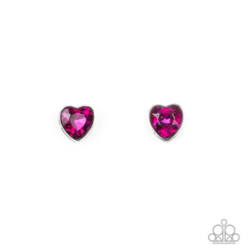 Deep Rose Pink Heart