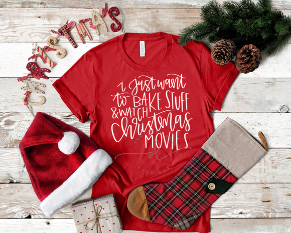 Bake Stuff & Watch Christmas Movies